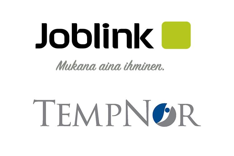 Linkityn asiakkaat: Joblink ja Tempnor yritysten logot