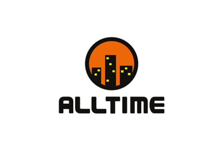 Kiinteistöhuollon asiakkaat: Alltime logo