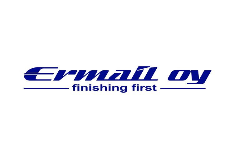 Asiakas: Ermail Oy sininen logo