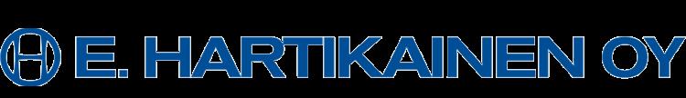 Asiakas: E.Hartikainen Oy sininen logo
