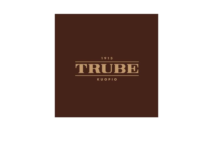 Asiakas: Trube ruskea logo