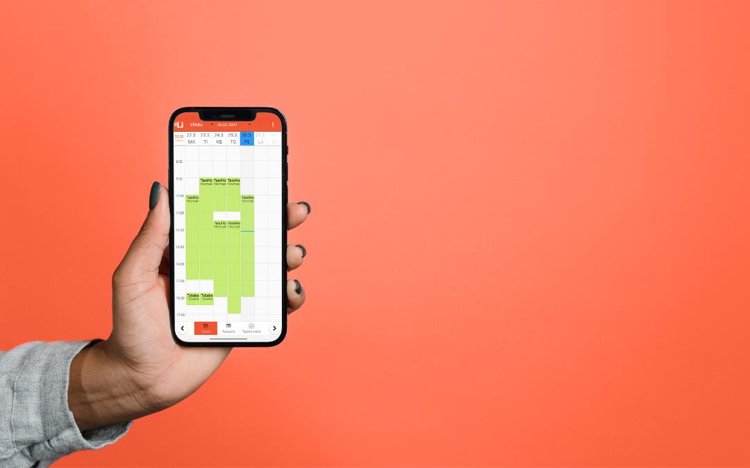 Iphone-kadessa